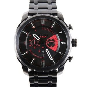 Diesel DZ4367 Stonghold Black Oversized Dial Watch